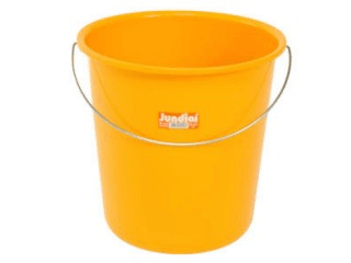 A yellow bucket